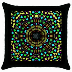 Liven Up In Love Light And Sun Throw Pillow Case (black) by pepitasart