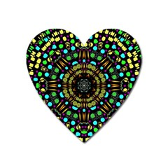 Liven Up In Love Light And Sun Heart Magnet by pepitasart
