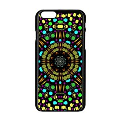 Liven Up In Love Light And Sun Apple Iphone 6/6s Black Enamel Case by pepitasart