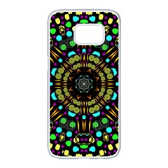 Liven Up In Love Light And Sun Samsung Galaxy S7 Edge White Seamless Case by pepitasart