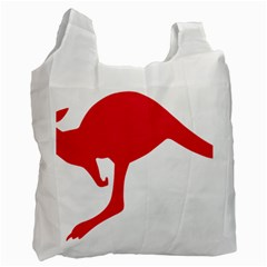 Australian Army Vehicle Insignia Recycle Bag (two Side)  by abbeyz71