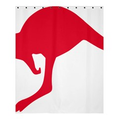 Australian Army Vehicle Insignia Shower Curtain 60  X 72  (medium)