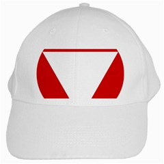 Roundel Of Austrian Air Force  White Cap