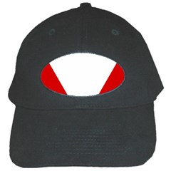 Roundel Of Austrian Air Force  Black Cap