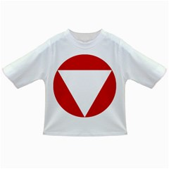 Roundel Of Austrian Air Force  Infant/toddler T Shirts
