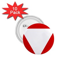 Roundel Of Austrian Air Force  1 75  Buttons (10 Pack)