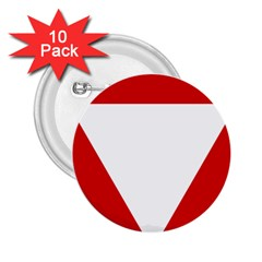 Roundel Of Austrian Air Force  2 25  Buttons (10 Pack)