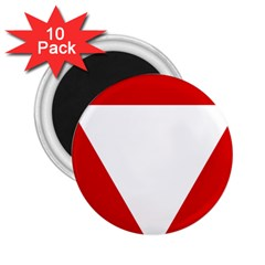 Roundel Of Austrian Air Force  2 25  Magnets (10 Pack)