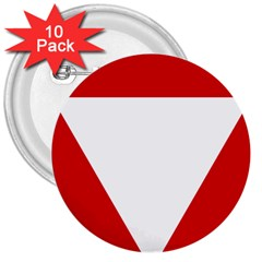 Roundel Of Austrian Air Force  3  Buttons (10 Pack)