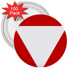 Roundel Of Austrian Air Force  3  Buttons (100 Pack)