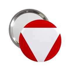 Roundel Of Austrian Air Force  2 25  Handbag Mirrors