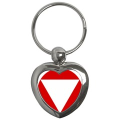 Roundel Of Austrian Air Force  Key Chains (heart)