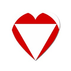 Roundel Of Austrian Air Force  Heart Magnet