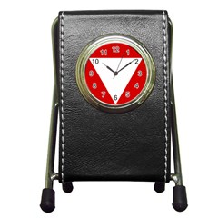 Roundel Of Austrian Air Force  Pen Holder Desk Clocks