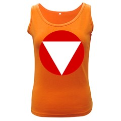 Roundel Of Austrian Air Force  Women s Dark Tank Top