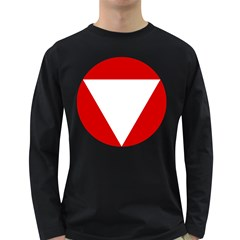 Roundel Of Austrian Air Force  Long Sleeve Dark T Shirts