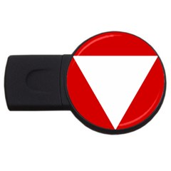 Roundel Of Austrian Air Force  Usb Flash Drive Round (4 Gb)