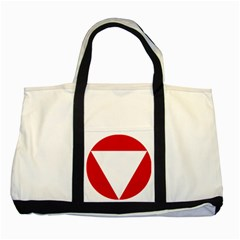 Roundel Of Austrian Air Force  Two Tone Tote Bag