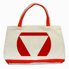 Roundel Of Austrian Air Force  Classic Tote Bag (red)