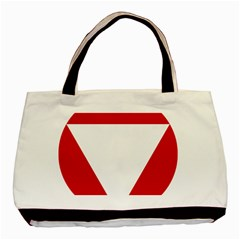 Roundel Of Austrian Air Force  Basic Tote Bag (two Sides)