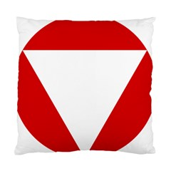 Roundel Of Austrian Air Force  Standard Cushion Case (one Side)