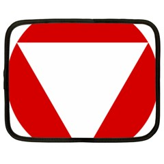 Roundel Of Austrian Air Force  Netbook Case (xxl)