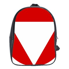 Roundel Of Austrian Air Force  School Bag (large)
