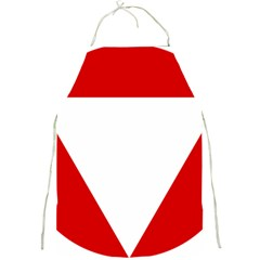 Roundel Of Austrian Air Force  Full Print Aprons