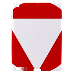 Roundel Of Austrian Air Force  Apple Ipad 3/4 Hardshell Case (compatible With Smart Cover)