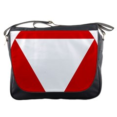 Roundel Of Austrian Air Force  Messenger Bags