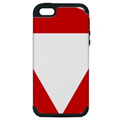 Roundel Of Austrian Air Force  Apple Iphone 5 Hardshell Case (pc+silicone)