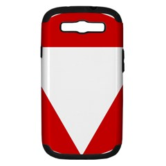 Roundel Of Austrian Air Force  Samsung Galaxy S Iii Hardshell Case (pc+silicone)