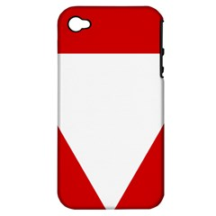Roundel Of Austrian Air Force  Apple Iphone 4/4s Hardshell Case (pc+silicone)