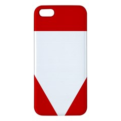 Roundel Of Austrian Air Force  Apple Iphone 5 Premium Hardshell Case