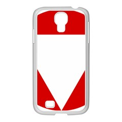 Roundel Of Austrian Air Force  Samsung Galaxy S4 I9500/ I9505 Case (white)