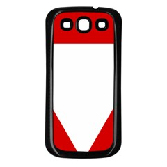 Roundel Of Austrian Air Force  Samsung Galaxy S3 Back Case (black)