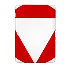 Roundel Of Austrian Air Force  Samsung Galaxy Tab 2 (10 1 ) P5100 Hardshell Case