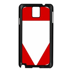 Roundel Of Austrian Air Force  Samsung Galaxy Note 3 N9005 Case (black)