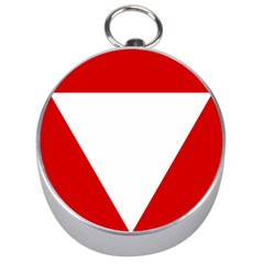 Roundel Of Austrian Air Force  Silver Compasses