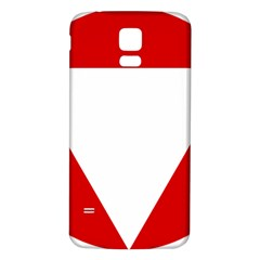 Roundel Of Austrian Air Force  Samsung Galaxy S5 Back Case (white)