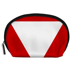 Roundel Of Austrian Air Force  Accessory Pouches (large)