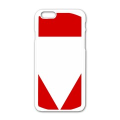 Roundel Of Austrian Air Force  Apple Iphone 6/6s White Enamel Case