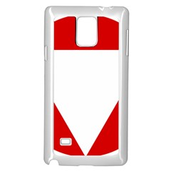 Roundel Of Austrian Air Force  Samsung Galaxy Note 4 Case (white)