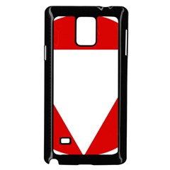 Roundel Of Austrian Air Force  Samsung Galaxy Note 4 Case (black)