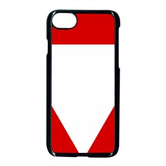 Roundel Of Austrian Air Force  Apple Iphone 7 Seamless Case (black)
