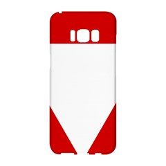 Roundel Of Austrian Air Force  Samsung Galaxy S8 Hardshell Case