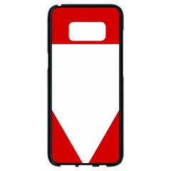 Roundel Of Austrian Air Force  Samsung Galaxy S8 Black Seamless Case
