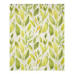 Green Leaves Nature Patter Shower Curtain 60  X 72  (medium)  by paulaoliveiradesign