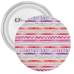 Watercolor Tribal Pattern 3  Buttons
