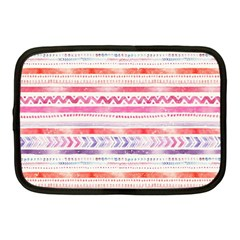 Watercolor Tribal Pattern Netbook Case (medium)